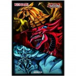 Sleeves Yu-Gi-Oh! Les 3 Dieux Egyptiens