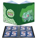 Portfolio Pokemon Bulbizarre - 10 pages de 4 cases (80 cartes recto-verso)