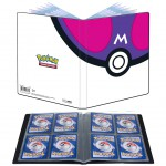 Portfolio Pokemon Master Ball - 10 pages de 4 cases (80 cartes recto-verso)