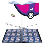 Portfolio Pokemon Master Ball - 10 pages de 9 cases (180 cartes recto-verso)