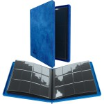 Portfolio  Album ZIP - 20 pages de 12 cases (480 cartes recto-verso) - Bleu