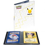 Portfolio Pokemon Pokemon 25 ans - 30 pages de 1 cases pour Cartes JUMBO (60 cartes recto-verso) + Pikachu JUMBO
