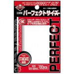 Sleeves Standard x100  Perfect Size - Clear