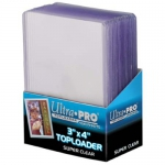 "Sleeves  Toploader x25 - 3x4"" Super Clear Premium"