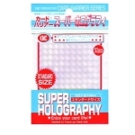Sleeves Standard x50  Super Holography - Clear