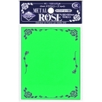 Sleeves Standard x50  Metal Rose - Green