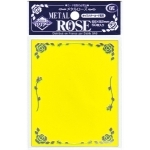 Sleeves Standard x50  Metal Rose - Yellow