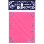 Sleeves Standard x50  Metal Rose - Pink