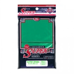 Sleeves Standard x80  Super Series - Green