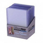 "Sleeves  Toploader x25 - 3x4"" Thick Clear Regular"