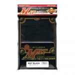 Sleeves Standard x80  Mat Series - Black