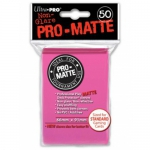 Sleeves  PRO MATTE - Non Glare - Rose Fluo