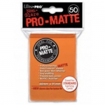 Sleeves Standard x50  PRO MATTE - Non Glare - Orange