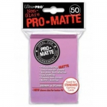Sleeves Standard x50  PRO MATTE - Non Glare - Rose