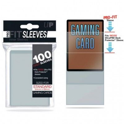 Sleeves Pro Fit - Transparent