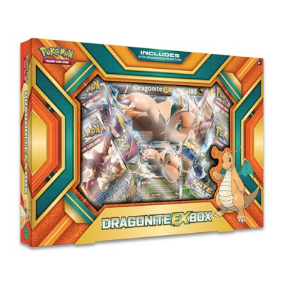 Coffret Dracolosse-EX dont 2 BOOSTERS XY Evolutions