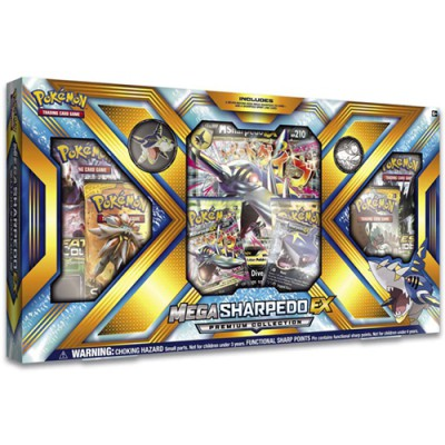 Collection Box PREMIUM - Mega Sharpedo-EX