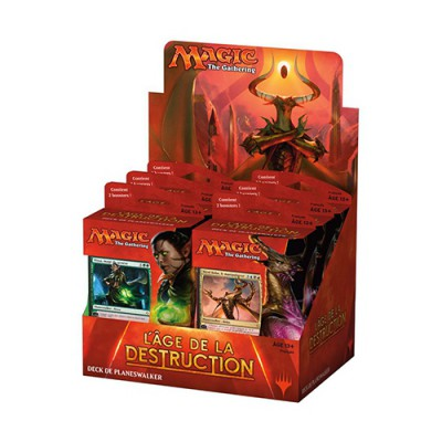 Planeswalker Deck L'âge de la Destruction x6