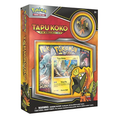 Collection Box PIN - Tapu Koko
