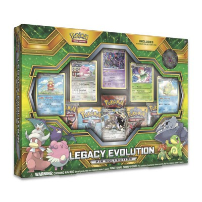 Collection Box PIN - Legacy Evolution