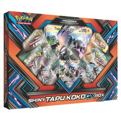 Collection Box Shiny Tapu Koko-GX