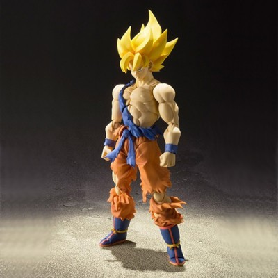 Figurine S.H.Figuarts - Super Saiyan Son Goku Super Warrior Awakening Version