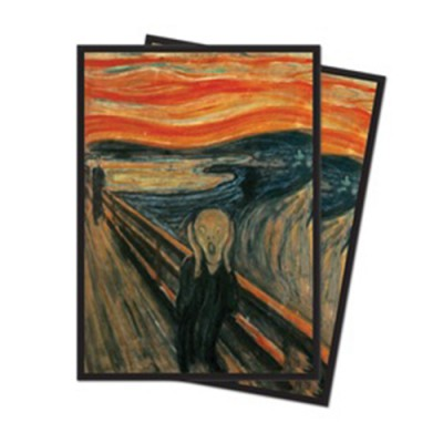 Sleeves Standard x65 Fine Art - The Scream