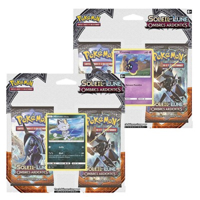Pack 2 Boosters Cosmog, Miaouss d'Alola