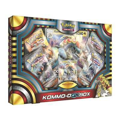 Collection Box Kommo-o-GX