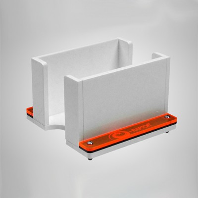 Card Holder - 1L Solid White