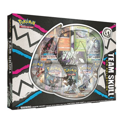 Collection Box PIN - Team Skull