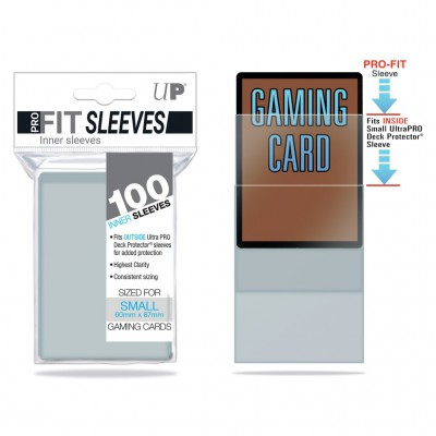 Sleeves Small x100 Pro-Fit