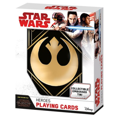Heroes Playing Cards in Tin box