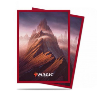 Sleeves Standard x100 Unstable Lands - Mountain