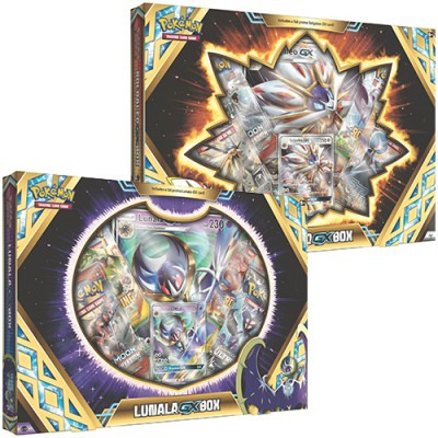 Collection Box Solgaleo-GX, Lunala-GX