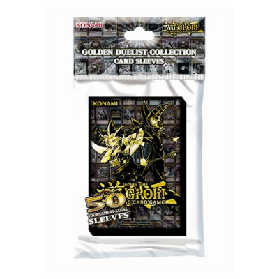 Sleeves Small x50 Golden Duelists