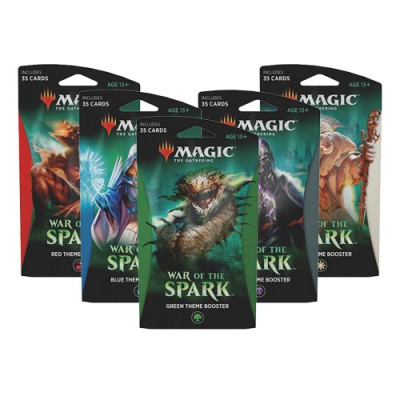 Boite de 10 Boosters War of the Spark (Theme Boosters)