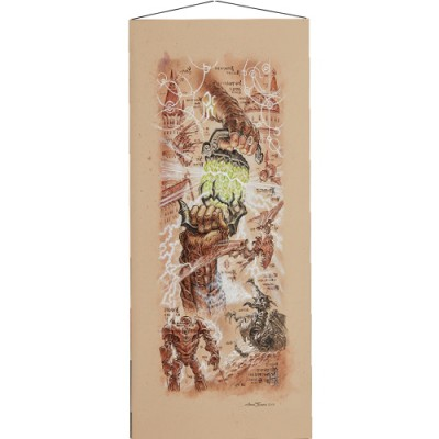 Wall Scroll The Antiquities War Saga