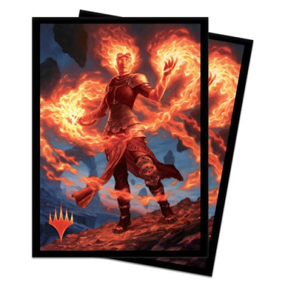 Sleeves Core Set 2020 / Édition de Base 2020  - Chandra, fournaise éveillée