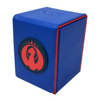 Deck Box Alcove Flip Box for Magic: The Gathering - Izzet