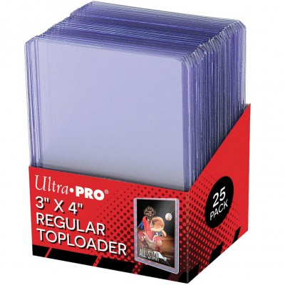 "Sleeves Toploader x25 - 3x4"" Clear Regular"