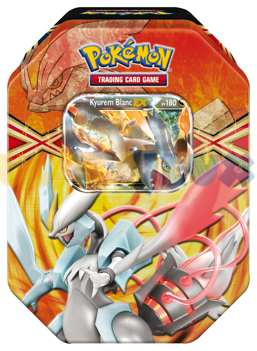 Jeux de cartes pokbox exclusive 2013 kyurem blanc ex pokemon - Carte pokemon kyurem blanc ex ...